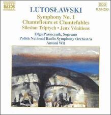 Lutoslawski - Orchestral Works Vol. 6 - Symphony No. 1 · Chantefleurs et Chantef