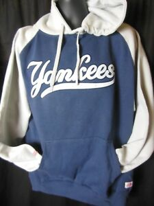 huge discount 4c48f 35825 Details about New York Yankees Men's Stitches Pullover Hooded Sweatshirt