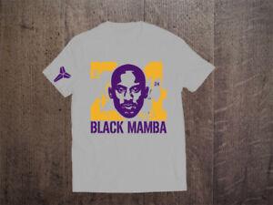 Tshirt Maglia Maglietta Uomo Kobe Bryant