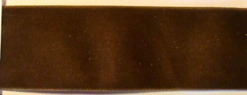 taftrücken orillo Cuanto 2m terciopelo banda 36mm alta calidad lavables no destiñe