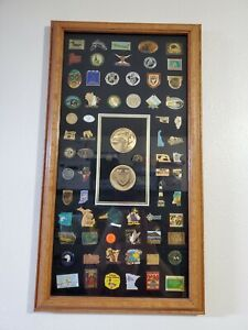 Vintage Ducks Unlimited Pin Collection Framed Free Local Pickup Ebay