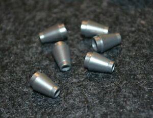 // Metalic Looking Round Plate Bricks ~ Lego ~ NEW ish 10 ~ 1x1 Silver