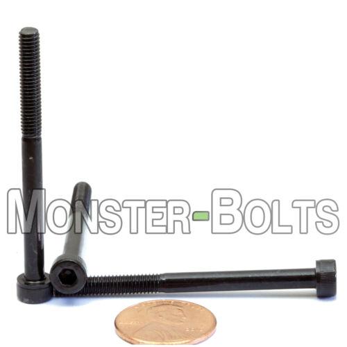 Qty 10 SOCKET HEAD CAP Screws 12.9 Alloy Steel Black Ox M4 M4-0.70 x 50mm
