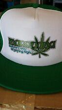 Retro Vintage Trucker Mesh Hash Weed Pot Hat