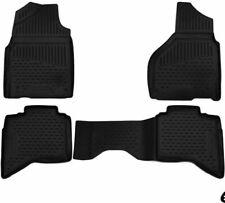 Novline 3D Floor mats Compatible with Dodge Ram 2017-2018 Crewcab-4 pcs