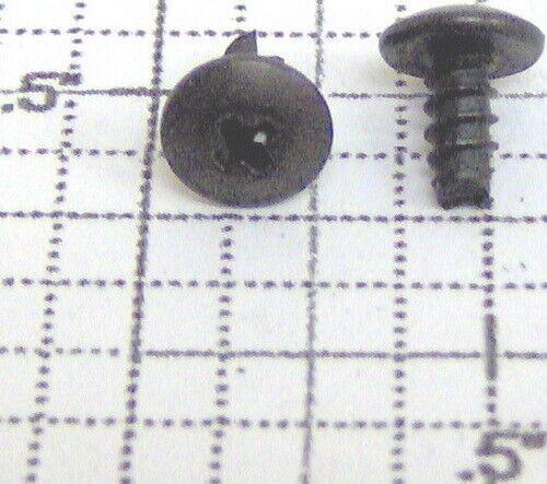 "50 Lionel 8240-71 4X1//4/"" Black Phillips Pan Head Screw"