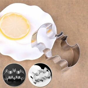 Details About Batman Cookie Cutter Mould Smooth 1pc Stainless Steel Solid Bat Mold