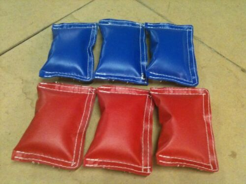 blue 6 bungee pads red