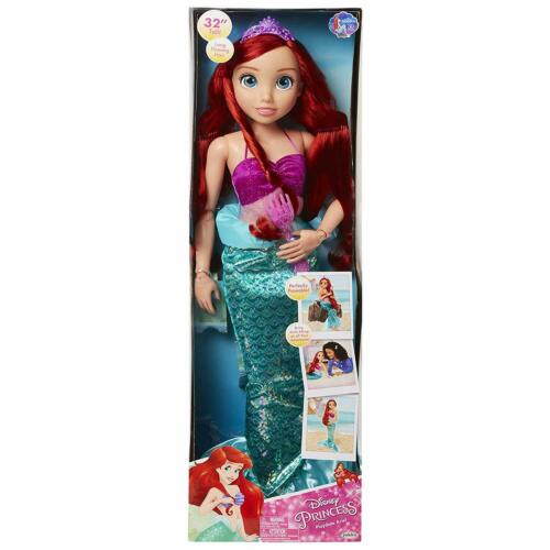 """NEW DISNEY Playdate Princess ARIEL Doll 32/"""" Tall My Size Little Mermaid SOLD OUT"""