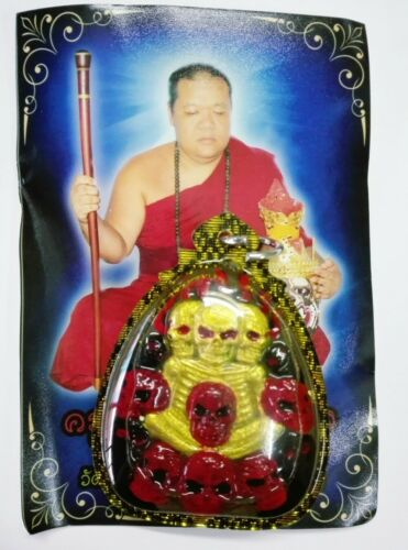 Thai Prai Millionaire Lanna Oil Amulet Charm Luck Fortune Love Ghost Kruba Phon