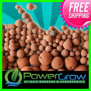 HYDROTON - Original Hydroton® Expanded Clay Pebbles choose your Volume by Liter