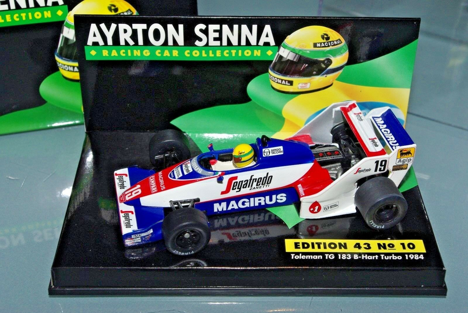 Minichamps F1 1 43 TOLEMAN TG183 B-HART TURBO 1984 - AYRTON SENNA COLLECTION  10