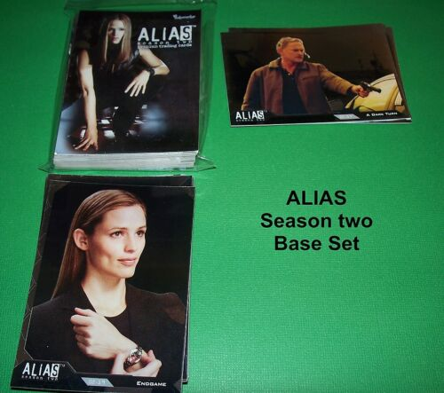 81 Card set ALIAS Season Two   COMPLETE BASE SET