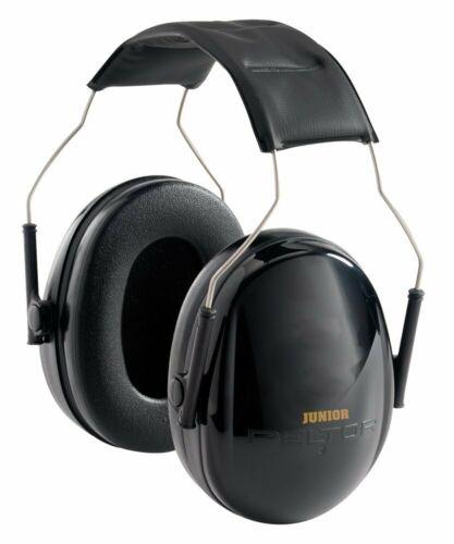 3M Peltor Junior Passive Hearing Protector 22dB NRR Black Earmuff #97070