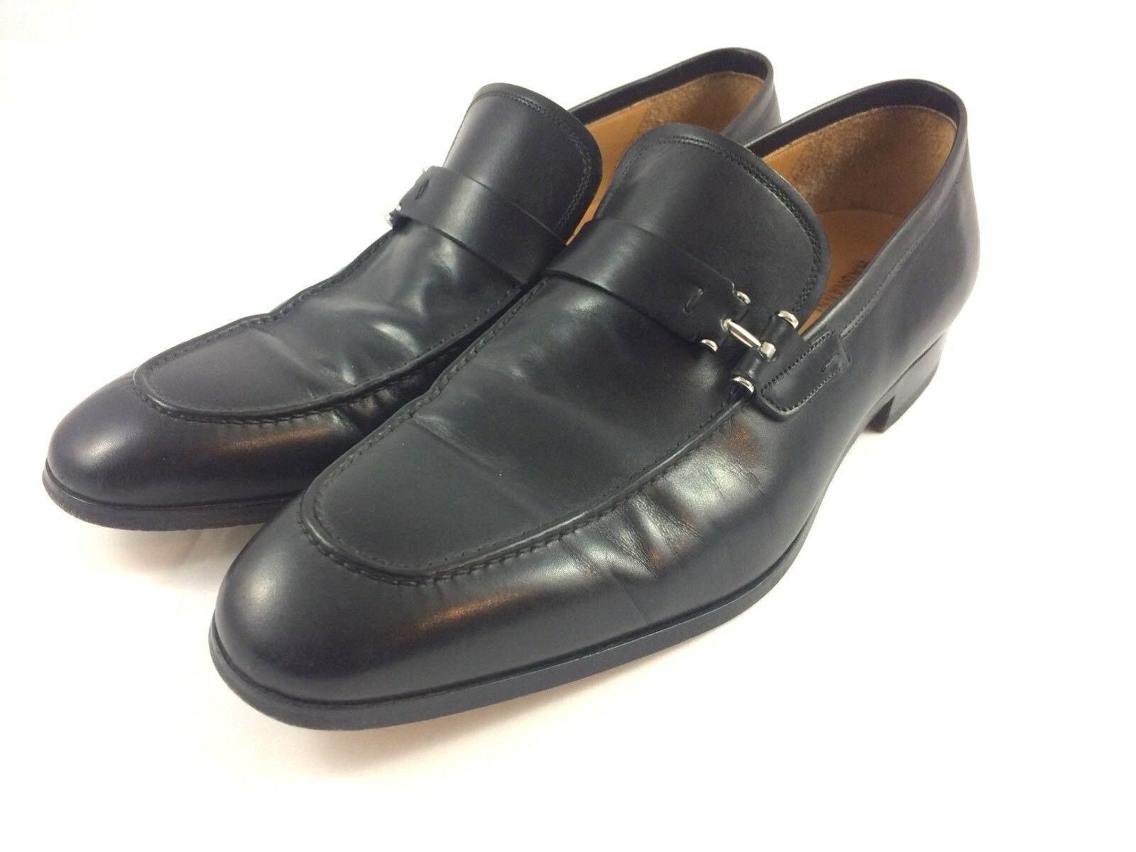 MAGNANNI Paseo Slip-On Dress Loafers with Strap Men's Shoe Size 9