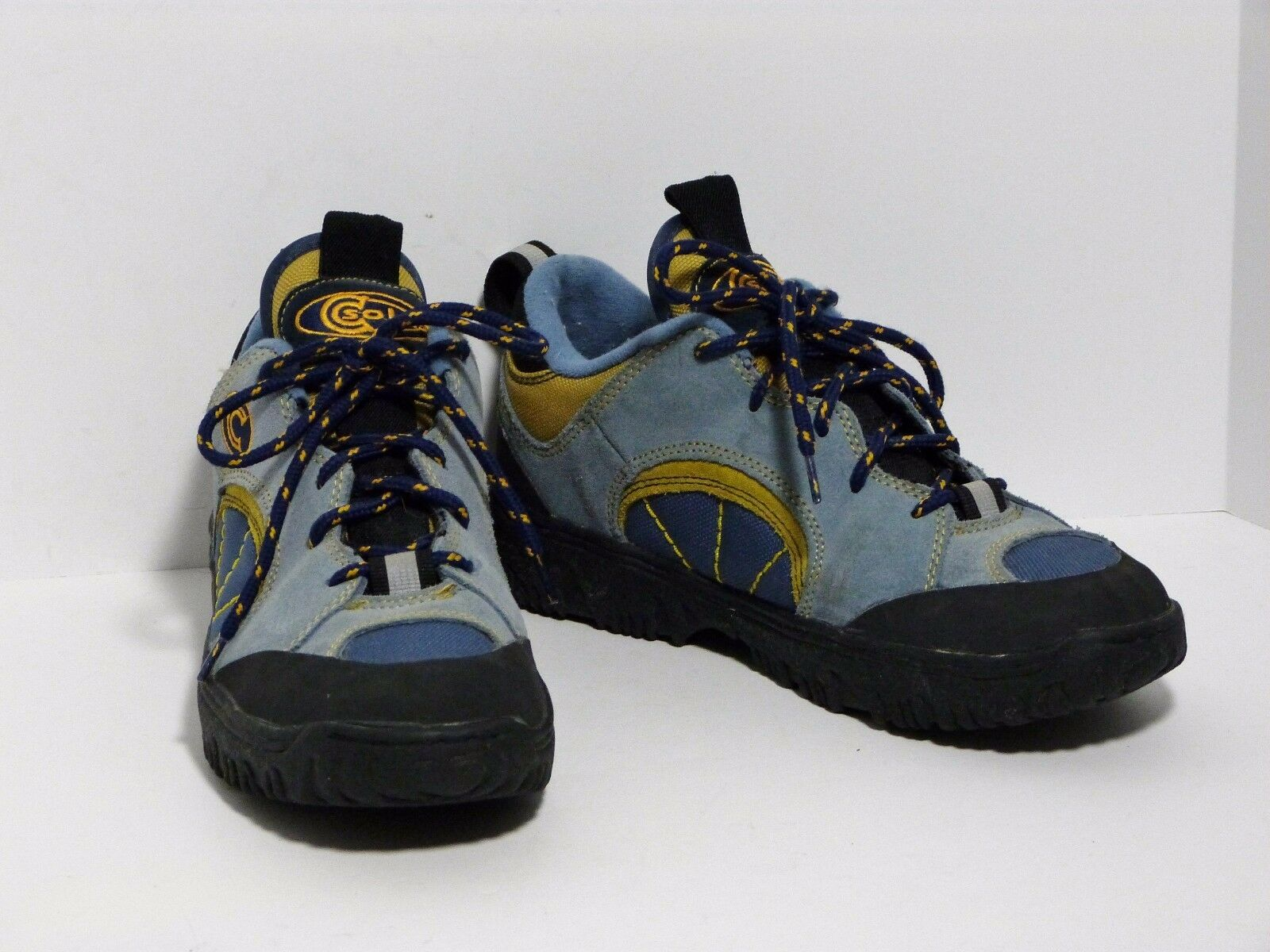 Cannondale CSoles Mountain Bike MTB Cycling shoes bluee Suede Lace Women's 9.5 EUC