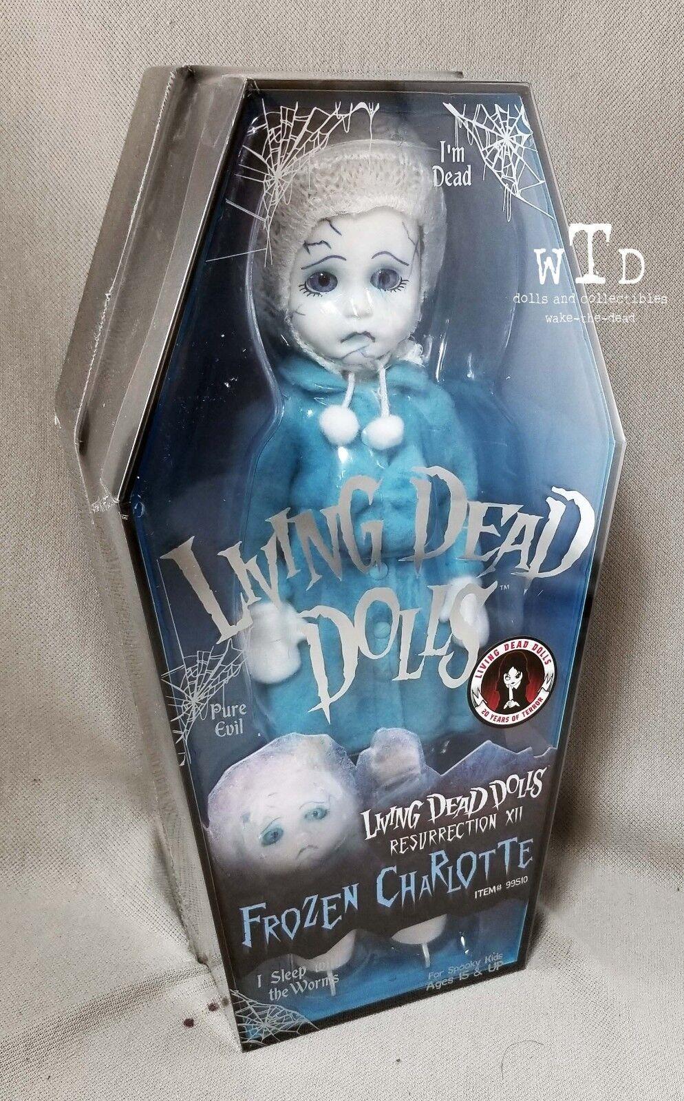 Ldd Living Dead Dolls  resurrección XII  Charlotte congelada  Sellado res 12