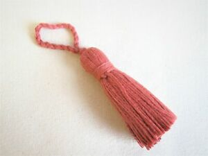 Pack 10 x Pale Pink 3cm Cotton Tassels For Sewing Cardmaking /& Crafts Y13305