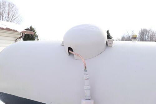 """500 250 1,000  gallon Propane Tank Dome Seal    /""""New Colors/"""""""