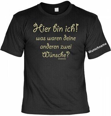 Herren T-Shirt GmbH Ich bin nur zum Saufen hier I Sprüche I Fun I    bis 5XL