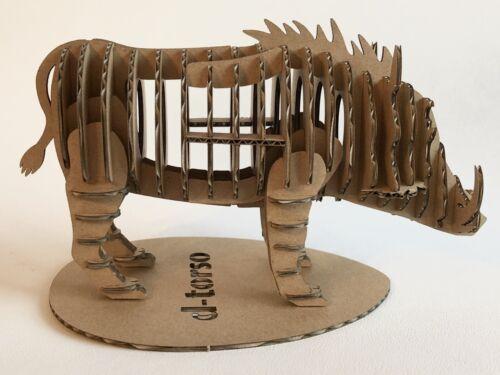 D-Torso Figurine 3D Animal Phacochère Jeu de Construction