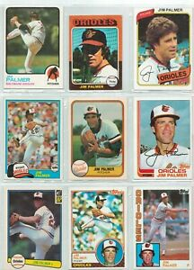 1973-TOPPS-JIM-PALMER-CARD-160-ORIOLES-Plus-More-1975-Mini-on-down