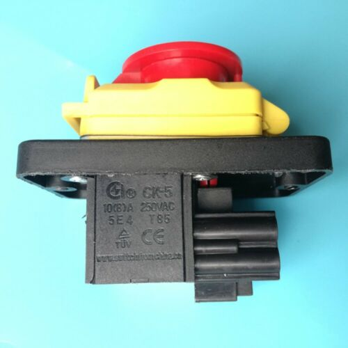 CK-5 4Pins Industrial Pushbutton Switches with Emergency Stop Cover 250V 10 8 A