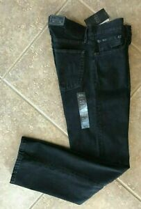 NWT $98 POLO RALPH LAUREN Thompson Relaxed JEANS MENS Black NEW