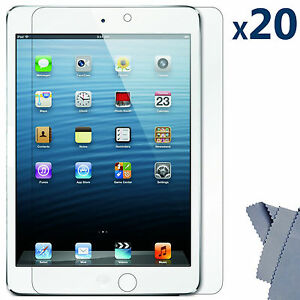 20-X-Ultra-Clear-Screen-Protector-Guard-Cover-for-Apple-iPad-Mini-16GB-32GB-64GB