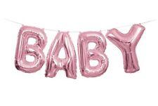 ROSA BABY Lettera Palloncini Banner Kit - Shower Decorazione Feste Forniture