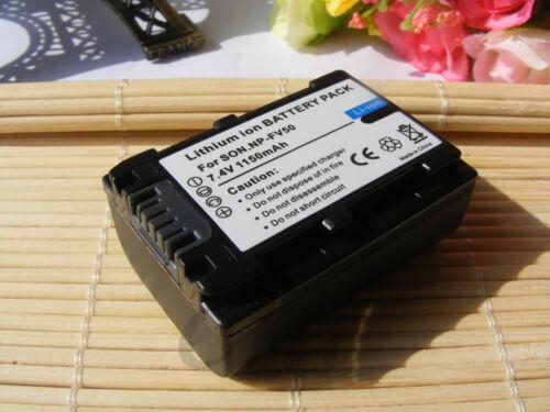 Cargador para SONY NPFV 70 NP-FV50 NP-FV70 FDR-AX33 FDR-AX53 FDR-AX100 2 Batería