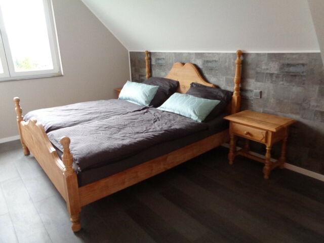Pinie MASSIV Doppelbett Bett Holzbett Landhausstil Schlafzimmer 180 x 200 cm