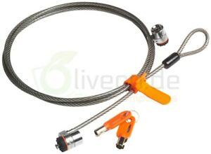 Kensington-Microsaver-Twin-Lock-Sicherheitsschloss-Latop-DP-N-0PU604