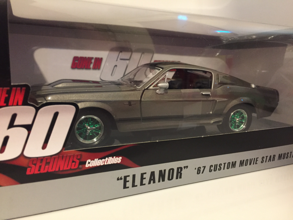 Selten Gone in 60 Seconds 67 Eleanor Ford Mustang Grünlight 18220