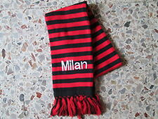 d7 sciarpa MILAN AC football club calcio scarf bufanda echarpe italia italy