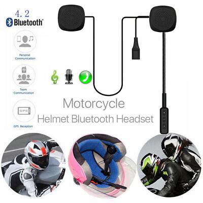 bluetooth helm motorrad headset kopfh rer motorr der intercom f r motorradfahrer ebay. Black Bedroom Furniture Sets. Home Design Ideas