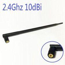 1pc WIFI Antenna 2.4 GHz 10dBi SMA Male Wireless WLAN Black Floding Omni Router