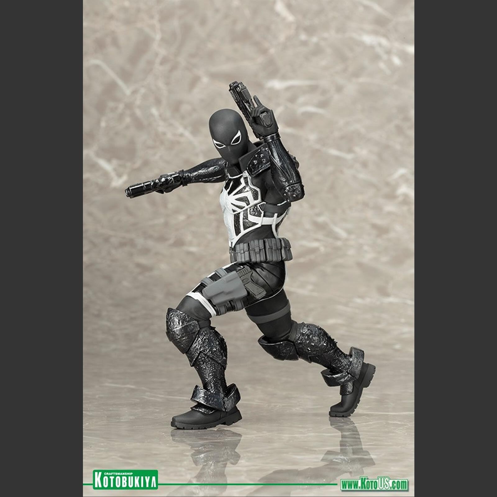 KOTOBUKIYA - SPIDER-uomo AGENT VENOM - MARVEL NOW  ARTFX+ ARTFX+ ARTFX+ STATUE - BNIB  747517