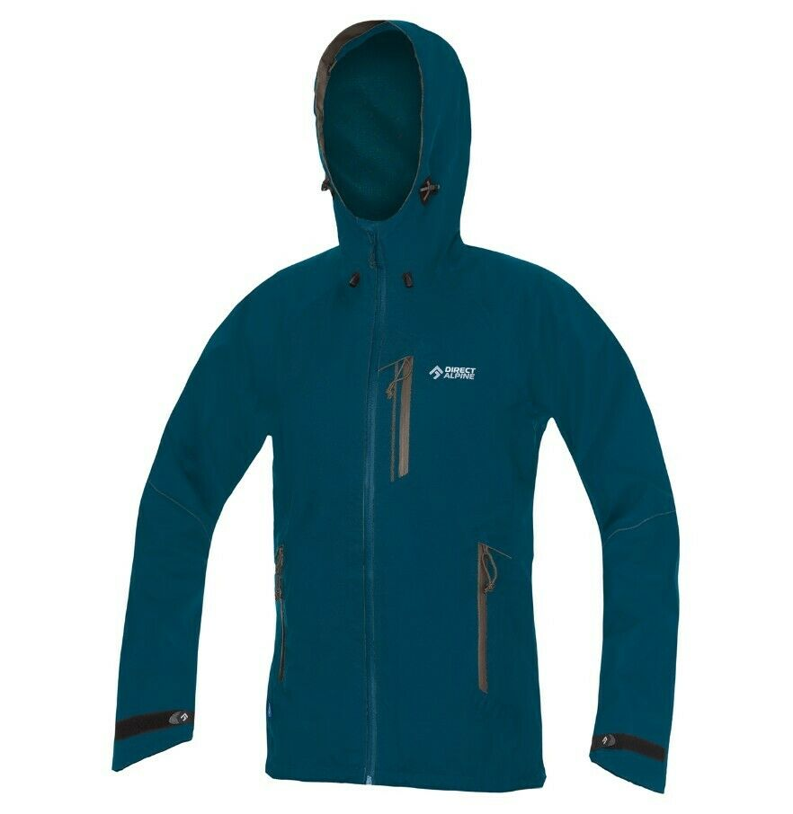 Direct Alpine talung Jacket donna IMPERMEABILE 3Lagen Dame Giacca Petrol