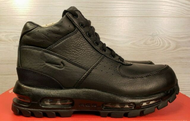 Nike Air Max Goadome (gs) ACG Waterproof Leather BOOTS Black Boys Size 7