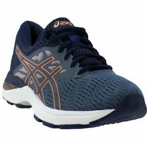 ASICS-Gel-Flux-5-Running-Shoes-Casual-Running-Shoes-Blue-Womens