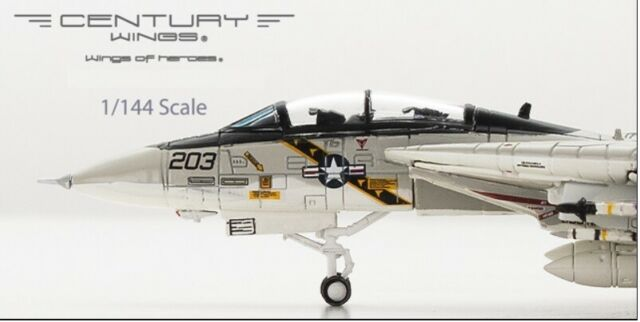 CW001628 F-14A TOMCAT U.S.NAVY VF-84 JOLLY ROGERS Century Wings 1:144 scale