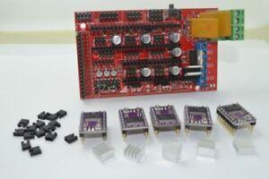 3D Printer RAMPS 1.4 Control Tafel /& DRV8825 StepStick Motor Driver L2KS