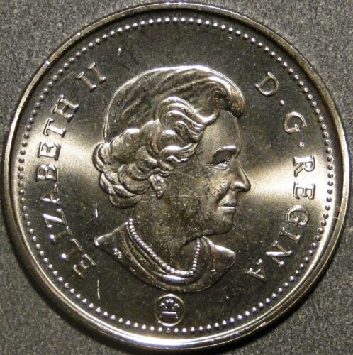 BU UNC Canada 2011 50 cent 50c half dollar coin from mint roll