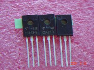 10-pcs-2SC3423-Y-150V-50mA-1-2W-TO-126-NPN-Transistor-Transistors-NEU