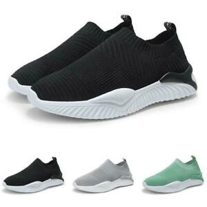Mens-Fashion-Sneakers-Shoes-Outdoor-Running-Sports-Mesh-Breathable-Gym-Casual-B
