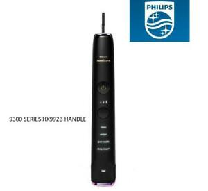 Philips-Sonicare-HX992B-DiamondClean-smart-toothbrush-9300-9500-Handle-Black
