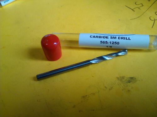 ".1250/"" 1//8/"" CARBIDE SCREW MACHINE LENGTH DRILL 135 DEGREE SPLIT POINT"