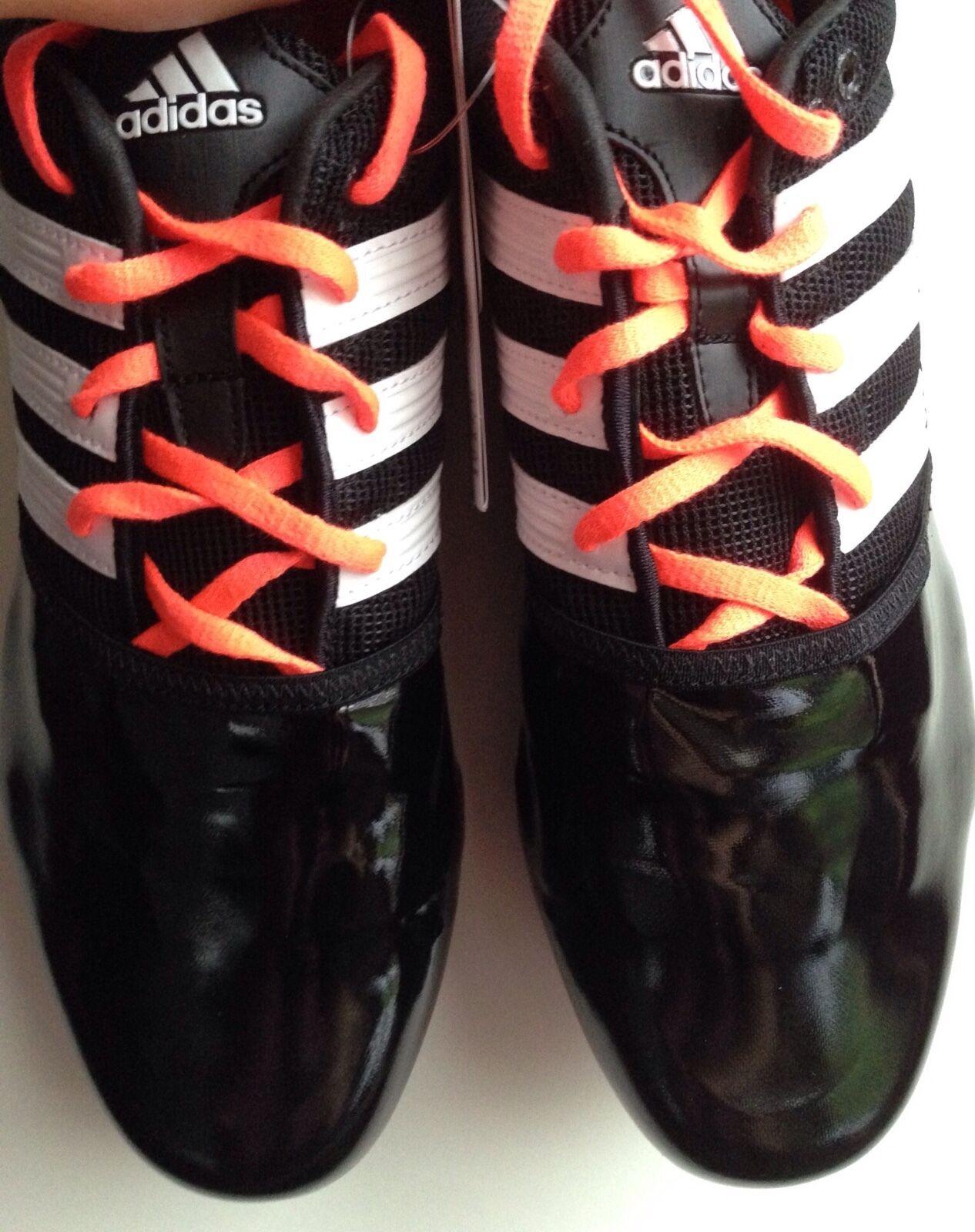 Adidas Men's Trainer's Jumpstar Field Spikes Black Training running shoe's