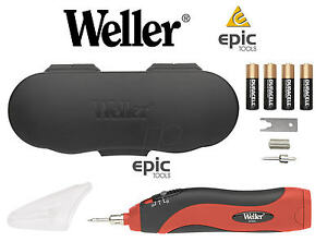 WELLER-Dual-Cordless-6w-To-8w-Battery-Soldering-Solder-Iron-Case-BP865CEU
